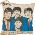 Music Memorabilia:Memorabilia, Beatles Cushion (NEMS, 1964)....