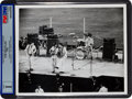 Music Memorabilia:Photos, Beatles at Shea Stadium, New York City Original Photo (1966)....