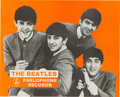 Music Memorabilia:Posters, Beatles Parlophone Records Promotional Poster (UK, c. 1963-64)....