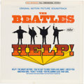 Music Memorabilia:Recordings, Beatles Help! Still Sealed Stereo LP (Capitol 2386,1966)....