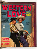 Golden Age (1938-1955):Romance, Western Love/Real West Romances Bound Volume (Prize, 1949-51)....