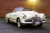 "The Iconic 1949 Buick Roadmaster Convertible Car from ""Rain Man."""