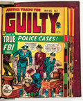 Golden Age (1938-1955):Crime, Justice Traps the Guilty Bound Volume (Prize, 1948-49)....