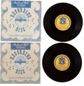 Music Memorabilia:Recordings, Beatles Press Conference Acetates (Packard Bell PhonOcord,964-65).... (Total: 2 Items)