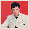 Music Memorabilia:Autographs and Signed Items, Elvis Presley Signed And Inscribed Spinout Promotional Photo(1966). ...