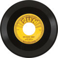 "Music Memorabilia:Recordings, Elvis Presley's 2nd Sun Single ""Good Rockin' Tonight"" (Sun 210,1954)...."