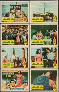 """Fire Down Below (Columbia, 1957). Lobby Card Set of 8 (11"""" X 14""""). Adventure. ... (Total: 8 Items)"""