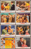 """Movie Posters:Musical, Athena (MGM, 1954). Lobby Card Set of 8 (11"""" X 14""""). Musical.. ...(Total: 8 Items)"""
