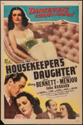 """Movie Posters:Comedy, The Housekeeper's Daughter (Favorite Films, R-1946). One Sheet (27""""X 41""""). Comedy.. ..."""