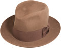Political:Presidential Relics, Franklin D. Roosevelt: Personally-Owned Stetson Hat....