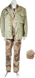 "Movie/TV Memorabilia:Costumes, A Richard Crenna Costume from ""Rambo III.""... (Total: 6 Items)"