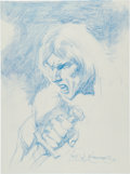 Original Comic Art:Sketches, Rudy Nebres Conan the Barbarian Sketch Original Art(2010)....