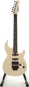 Musical Instruments:Electric Guitars, 1980s Yamaha SE-700E Pearl White Solid Body Electric Guitar....