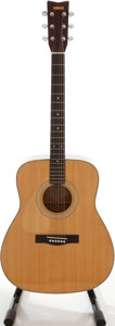 Musical Instruments:Acoustic Guitars, 1982 Yamaha FG-335L-II Natural Left-Handed Acoustic Guitar, Serial# 208040320....