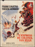 "Movie Posters:War, Von Ryan's Express (20th Century Fox, 1965). French Grande (47"" X63""). War.. ..."