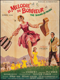 "The Sound of Music (20th Century Fox, 1966). French Grande (46"" X 61.5""). Academy Award Winners"
