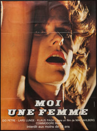 """I, A Woman, Part II (Commodore, 1968). French Grande (47"""" X 63""""). Adult"""