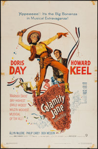 "Calamity Jane (Warner Brothers, 1953). One Sheet (27"" X 41""). Musical"