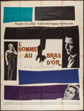 """Movie Posters:Drama, The Man with the Golden Arm (United Artists, 1956). French Grande(47"""" X 63""""). Drama.. ..."""