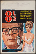"Movie Posters:Drama, 8½ (Columbia Films, 1963). Belgian (14.5"" X 22""). Drama.. ..."