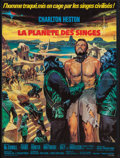 """Movie Posters:Science Fiction, Planet of the Apes (20th Century Fox, 1968). French Affiche (22.75""""X 30.25""""). Science Fiction.. ..."""
