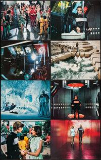 "Logan's Run (MGM, 1976). Deluxe Lobby Card Set of 12 (11"" X 14"") & Art Photo (11"" X 14""). Sc..."