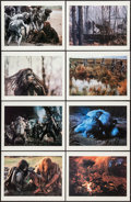 """Movie Posters:Adventure, Quest for Fire (20th Century Fox, 1982). Ernst Haas Art Portfoliowith Prints (8) (11.5"""" X 15""""). Adventure.. ... (Total: 8 Items)"""