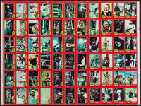 "Star Wars (Topps, 1977). Uncut Trading Card Sheet (21.5"" X 28.75"") DS. Series Two. Science Fiction"