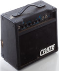 Musical Instruments:Amplifiers, PA, & Effects, 1990s Crate MX10 Black Guitar Amplifier, Serial # BRVDN82276....