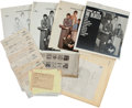 Music Memorabilia:Memorabilia, Beatles Yesterday and Today Mock Up, Notes, Letters, andProofs.... (Total: 21 Items)