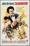 "Movie Posters:Blaxploitation, Slaughter (American International, 1972). One Sheet (27"" X 41""). Blaxploitation.. ..."