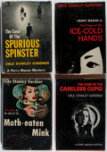 Books:Mystery & Detective Fiction, Erle Stanley Gardner. Group of Four First Edition, First PrintingBooks. Morrow, 1952-1968. Good or better condition.... (Total: 4Items)