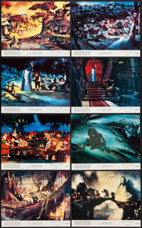 "The Lord of the Rings (United Artists, 1978). Mini Lobby Card Set of 8 (8"" X 10""). Animation. ... (Total: 8 It..."