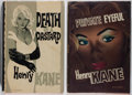 Books:Mystery & Detective Fiction, Henry Kane. Group of Two First British Editions. Boardman,1960-1962. Very good.... (Total: 2 Items)