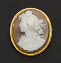 Estate Jewelry:Cameos, Large High Relief Shell Cameo. ...