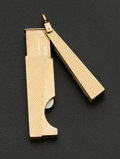 Estate Jewelry:Other , Dunhill Gold Cigar Clipper. ...