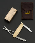 Estate Jewelry:Other , Dunhill Lighter & Pen Knife. ...