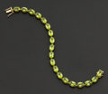 Estate Jewelry:Bracelets, Peridot & Gold Bracelet. ...