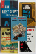 Books:Mystery & Detective Fiction, Eric Ambler. Group of Five First Edition, First Printing Books.Various, 1960-1967. Very good or better condition.... (Total: 5Items)