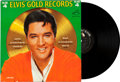 Music Memorabilia:Recordings, Elvis' Gold Records Volume 4 Mono LP With Promotional Photo(RCA LPM-3921, 1968). ...