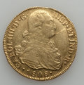 Colombia, Colombia: Charles IV gold 8 Escudos 1808-P JF,...