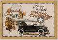 Books:Americana & American History, [Automobiles]. The New Star Car. Twelvemo pamphletcatalogue of cars produced by the Star automobile company. Wr...