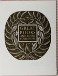 Books:Books about Books, Alan G. Thomas. SIGNED LIMITED/ INSCRIBED. Great Books and Book Collectors. Weidenfeld & Nicholson, [1975]. One of...