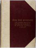 Books:Books about Books, [Books About Books]. Edward Almack. Fine Old Bindings with Other Interesting Miscellanea in Edward Almack's Library. ...