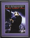 Music Memorabilia:Posters, Joe Bonamassa Live at the Royal Albert Hall Poster (2009)...