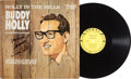 Music Memorabilia:Autographs and Signed Items, Buddy Holly Holly In The Hills Crickets Signed LP (Coral57463, 1965)....