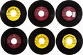 Music Memorabilia:Recordings, Buddy Holly 45 Group of 6 (1958-69).... (Total: 6 Items)