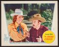 """Movie Posters:Western, The Singing Cowgirl (Grand National, 1938). Lobby Card (11"""" X 14"""").Western.. ..."""