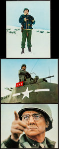 """Movie Posters:War, Patton (20th Century Fox, 1970). Deluxe Lobby Cards (3) (11"""" X14""""). War.. ... (Total: 3 Items)"""