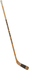 "Hockey Collectibles:Equipment, 1980 Mike Eruzione ""The Miracle on Ice"" Game Used Stick that Scoredthe Winning Goal...."